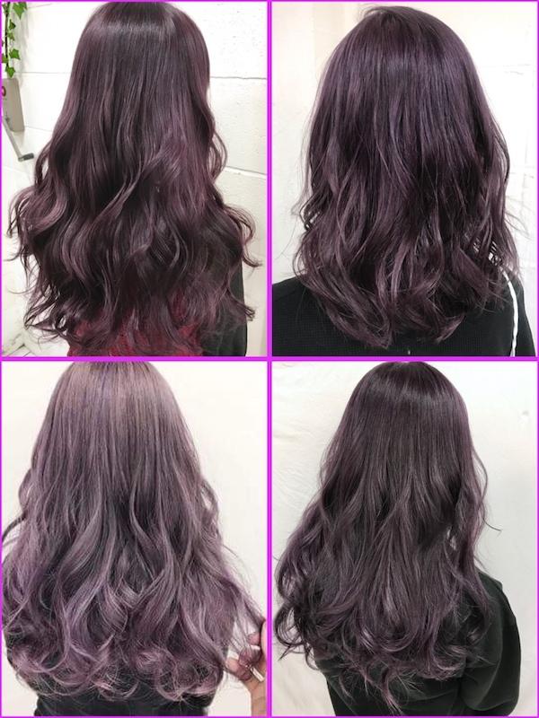 パープルカラー(ピンク紫)